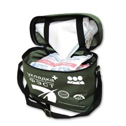 Укладка санитарной сумки «ФЭСТ» по приказу от 08.02.2013 г. № 61н