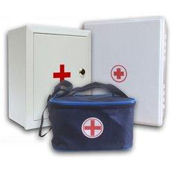 Аптечка первой помощи офисная (пластиковый шкаф)