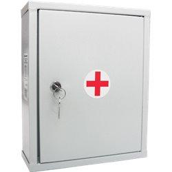 Аптечка универсальная Для коллектива до 30 человек (металлический шкаф)