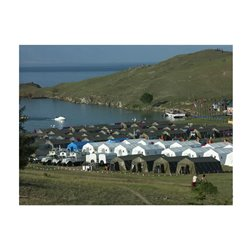 Памир 8. Палатка для полевых условий, летняя ( внешний тент - ткань ПВХ)