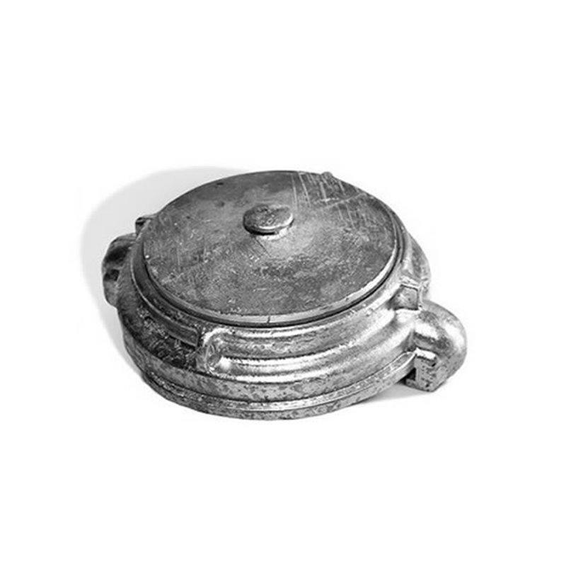 Головка заглушка ГЗВ-100 Алюм.