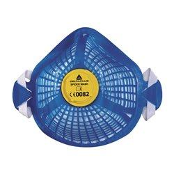 Полумаска SPIDERMASK P2 X5 многоразовая с клапаном (FFP2)