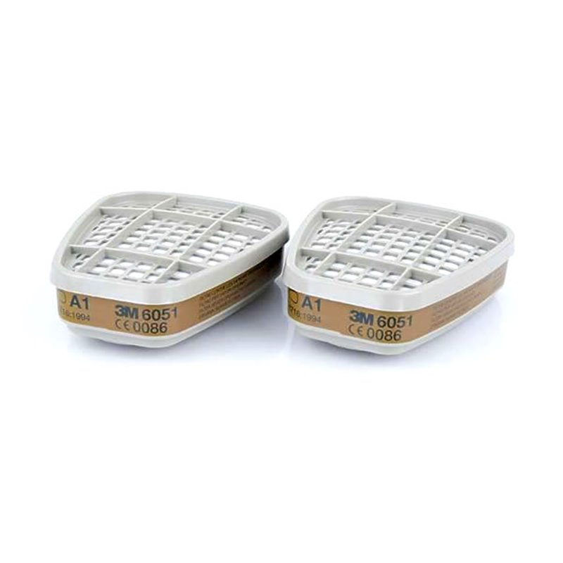 Фильтр 3M™ 6051 для защиты от газов и паров, А1